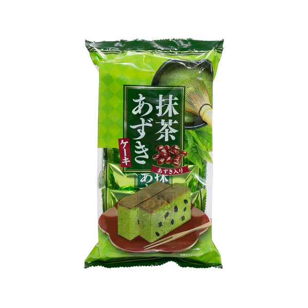 TENKEI Matcha Red Bean Cake  (5pcs)