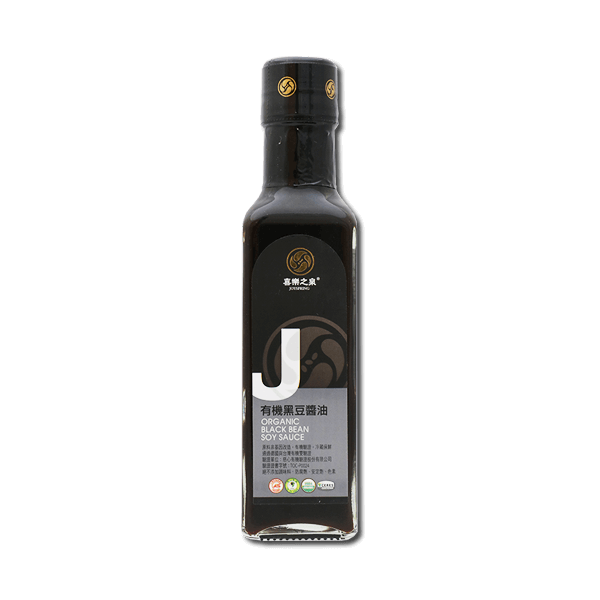 Joy Spring Organic Black Bean Soy Sauce(200mL)