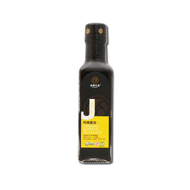 Joy Spring Organic Soybean Soy Sauce(210mL)