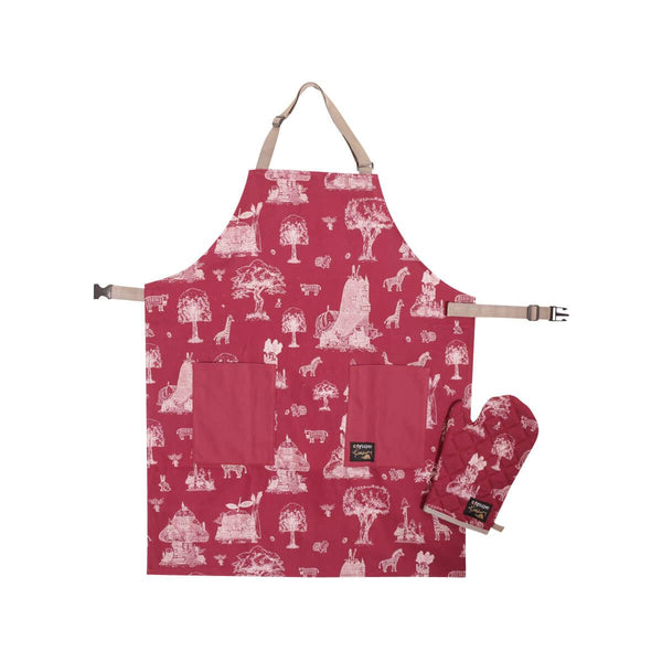 city'super Csxkris Go Green Apron Set