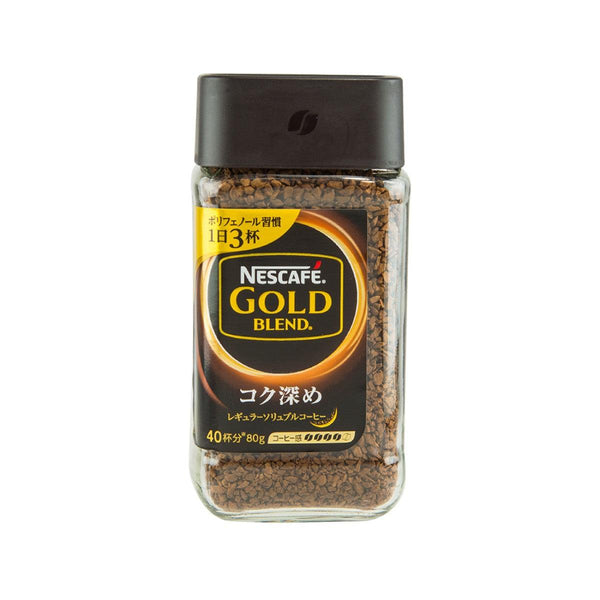 NESCAFE Gold Blend Regular Soluble Coffee - Rich  (80g)