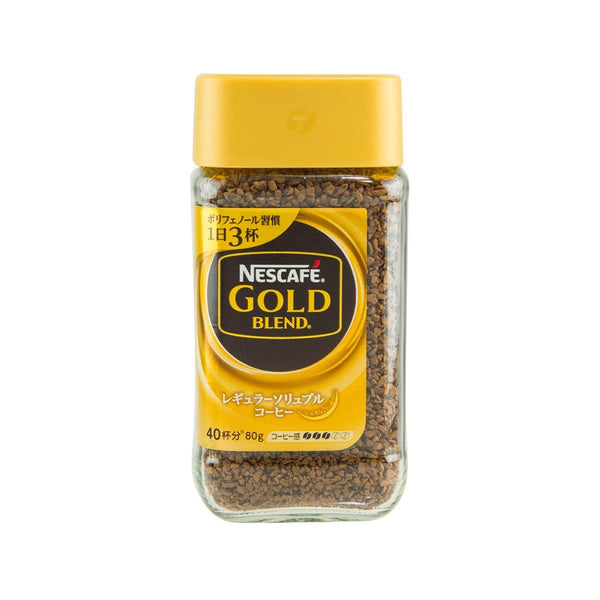 NESCAFE Gold Blend Regular Soluble Coffee  (80g)
