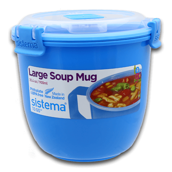 Sistema To Go Large Soup Mug 900mL(1pc)