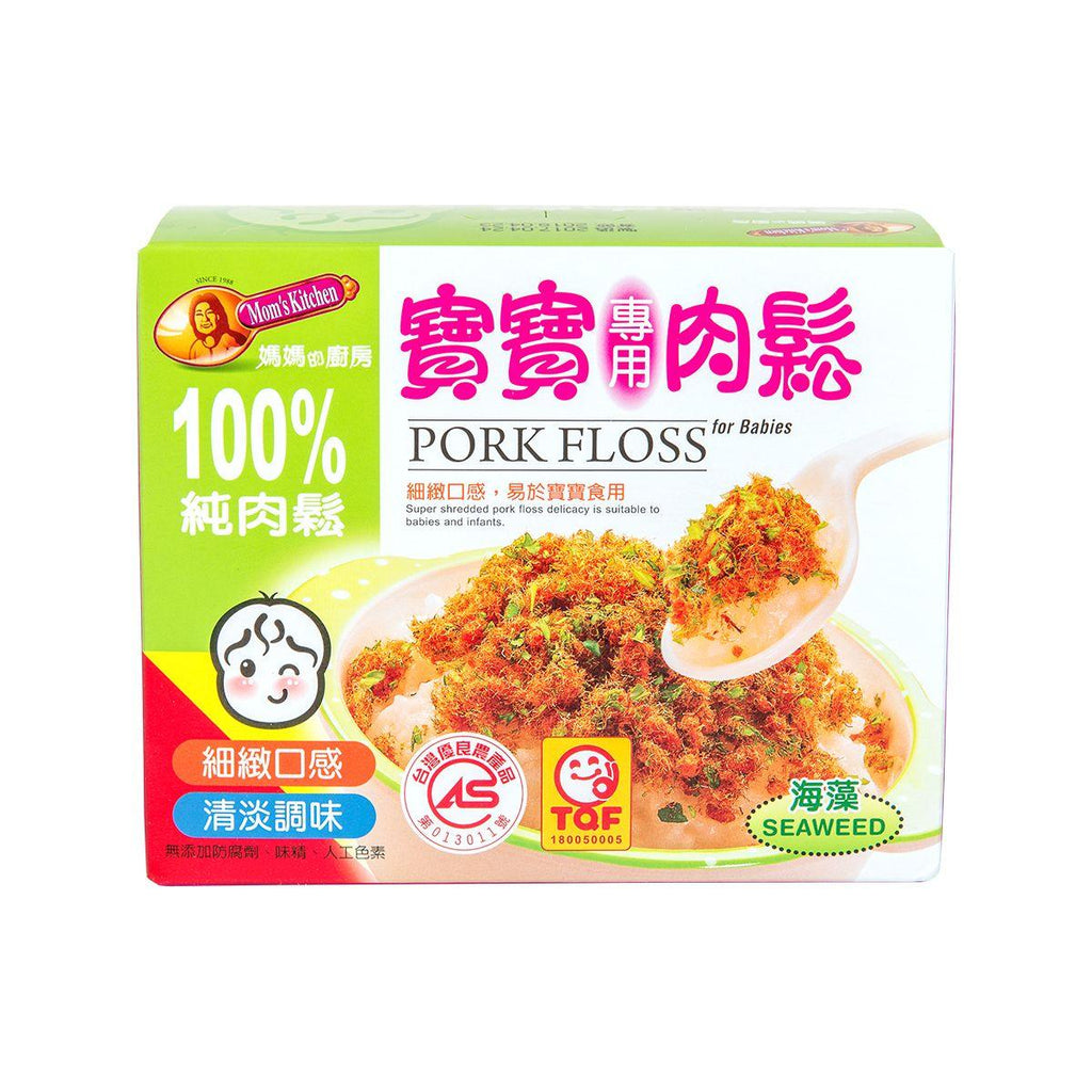 Mom's Kitchen Pork Floss For Baby with Seaweed(156g)