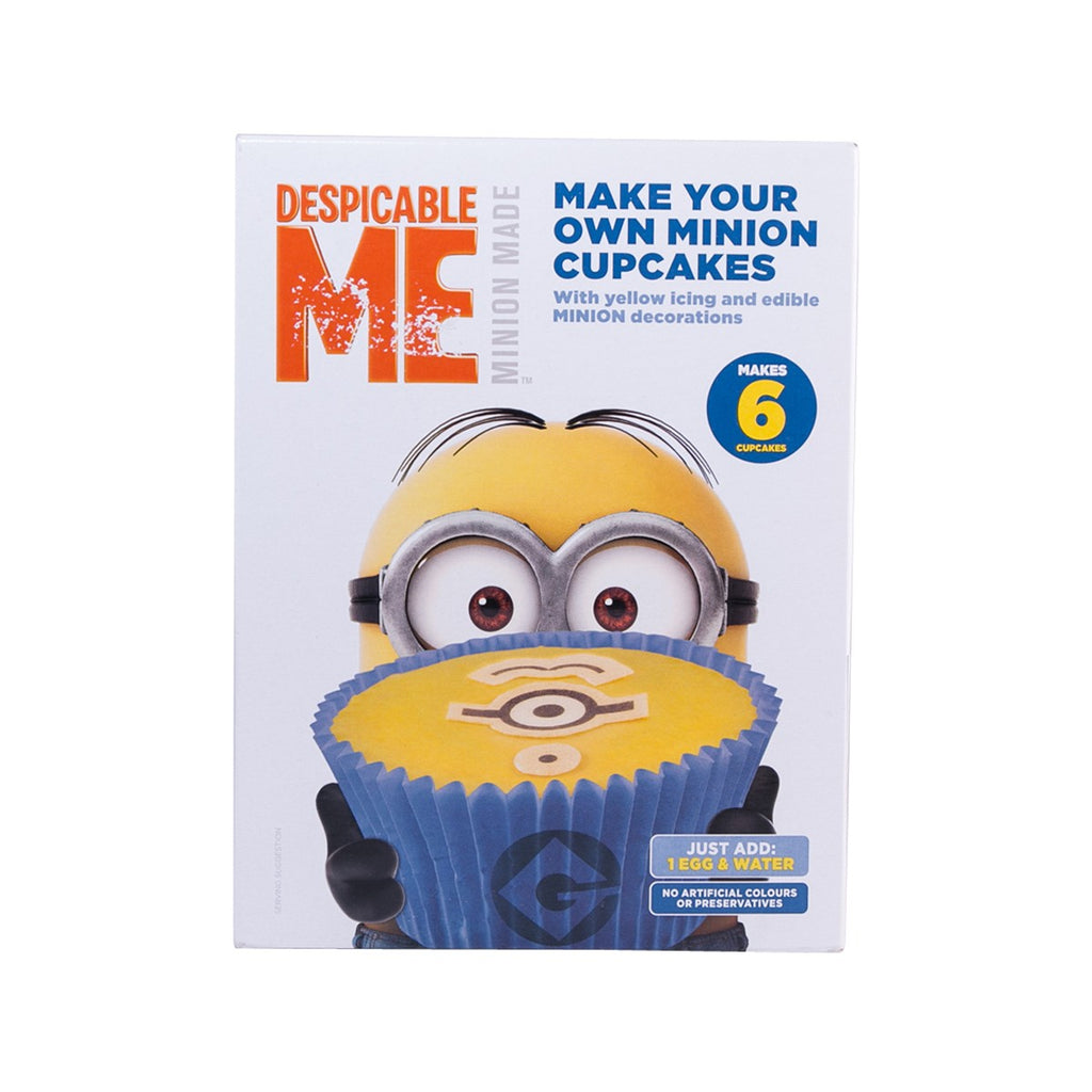 DESPICABLE ME Make Your Own Minion Cupcakes  (225g)