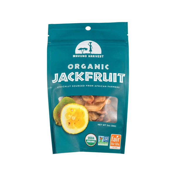MAVUNO HARVEST Organic Dried Jackfruit  (56g)