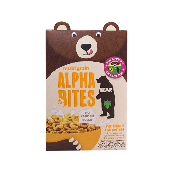 BEAR NIBBLES Alphabites Multigrain Cereal  (350g)