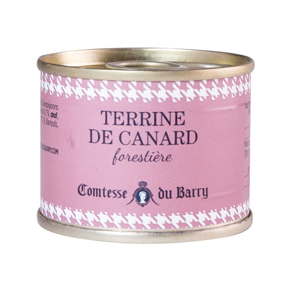 COMTESSE DU BARRY Duck Terrine with Forest Mushrooms  (70g)