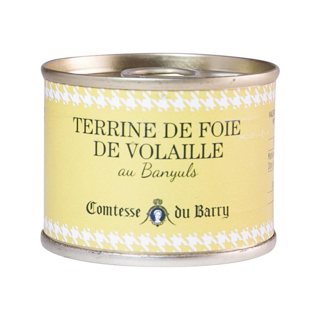 COMTESSE DU BARRY Chicken Liver Terrine with Banyuls Wine  (70g)