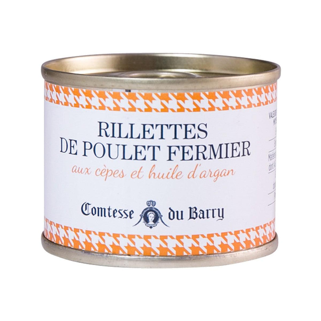 Comtesse Du Barry Chicken Rillettes With Porcini Mushrooms And Argan Oil(70g)