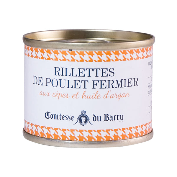 COMTESSE DU BARRY Chicken Rillettes with Porcini Mushrooms and Argan Oil  (70g)