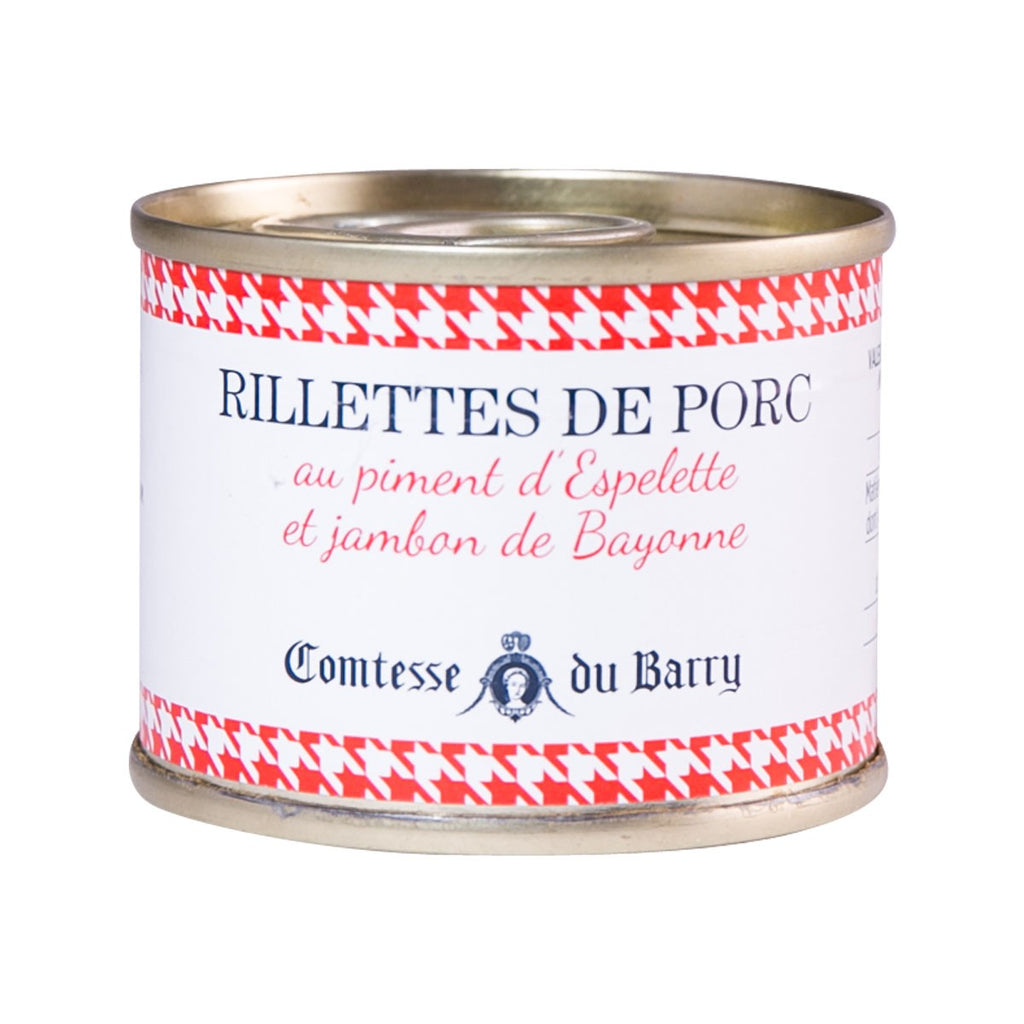 Comtesse Du Barry Pork Rillettes With Espelette Pepper And Bayonne Ham(70g)