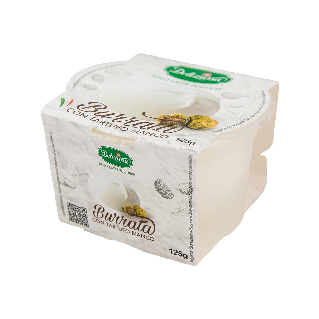 Delizia Burrata White Truffle Cheese(280g)