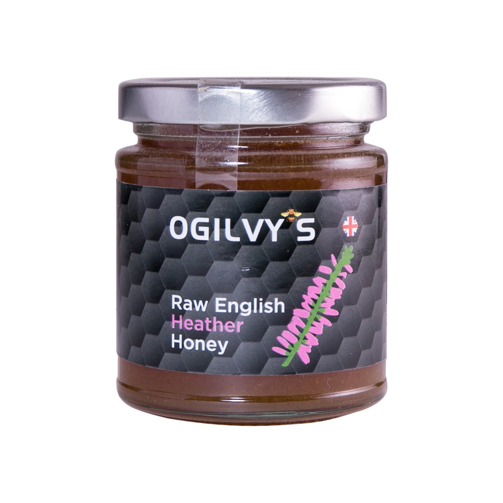 OGILVY'S Raw English Heather Honey  (240g)