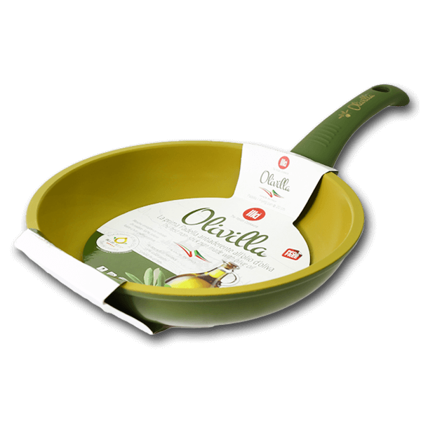 ILLA Frying Pan with Olive Oil Non-Stick Coating 20cm