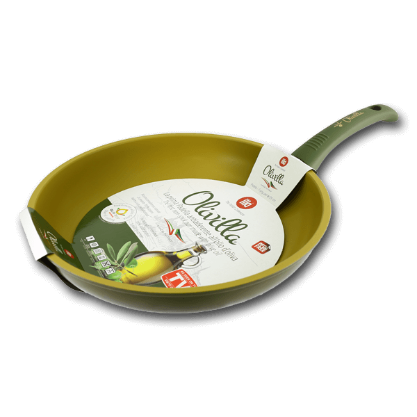 ILLA Frying Pan with Olive Oil Non-Stick Coating 28cm