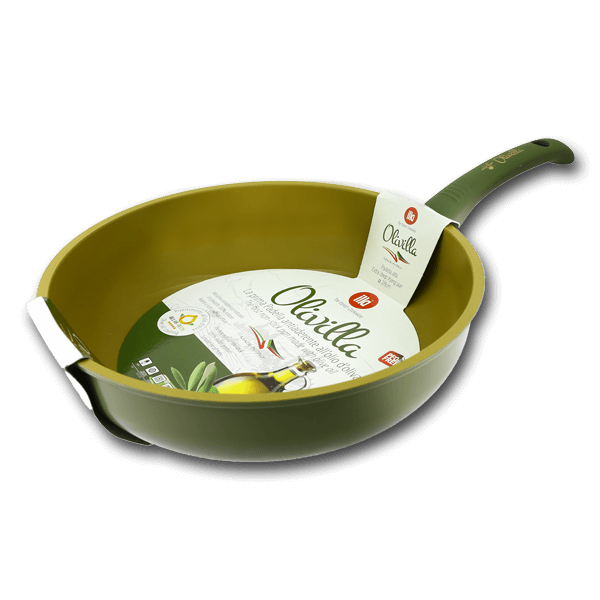 ILLA Deep Pan with Olive Oil Non-Stick Coating 28cm