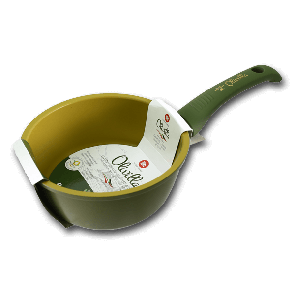 ILLA Deep Pan with Olive Oil Non-Stick Coating 16cm