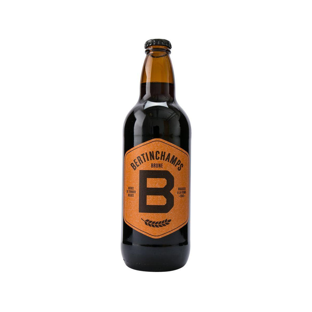 BERTINCHAMPS Brune Beer (Alc 7%)  (500mL)