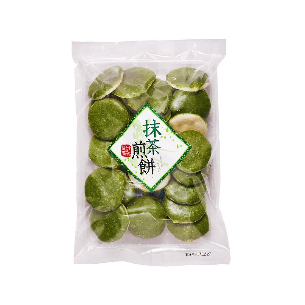 TOTANI Maccha Rice Cracker  (90g)