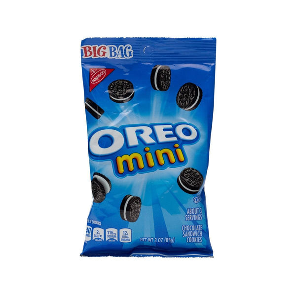 NABISCO Oreo Mini Chocolate Sandwich Cookies  (85g)