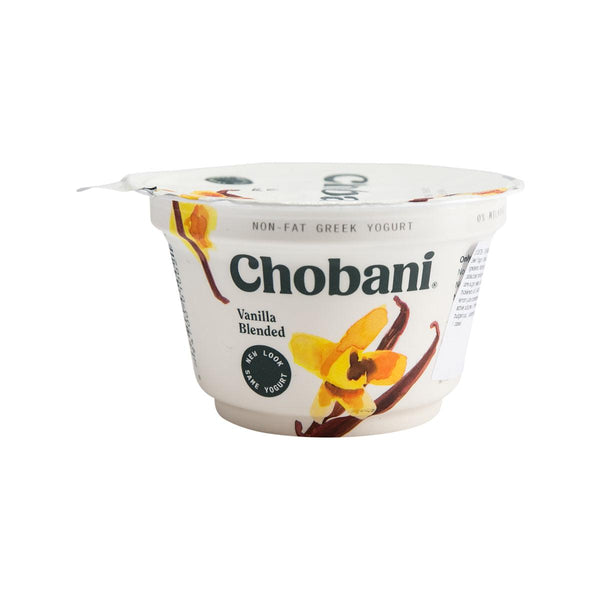 CHOBANI Non Fat Greek Yogurt - Vanilla Blended  (150g)