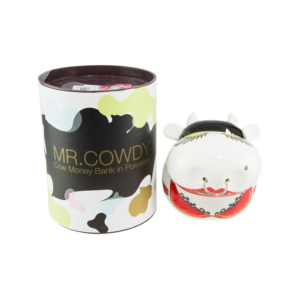 MULTIPLE CHOICE Mr. Cowdy - Cow Money Bank in Porcelain