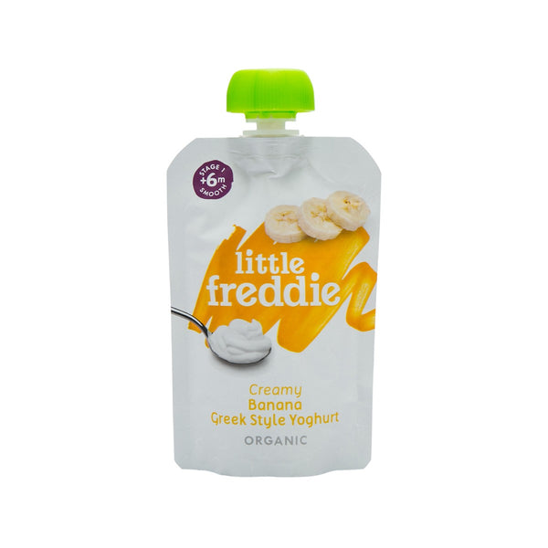 LITTLE FREDDIE Greek Style Yoghurt with Banana  (100g)