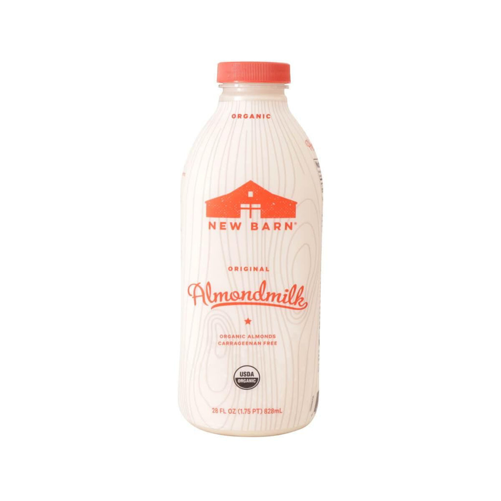 New Barn Organic Almond Milk - Original (828mL)