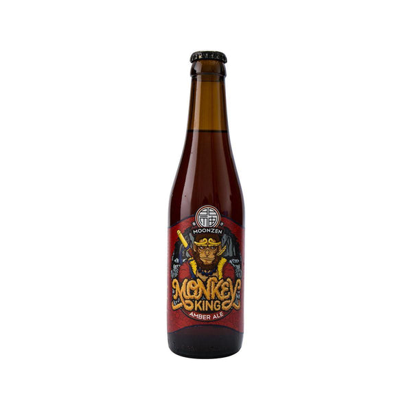 MOONZEN BREWERY Monkey King Amber Ale (Alc 5%)  (330mL)