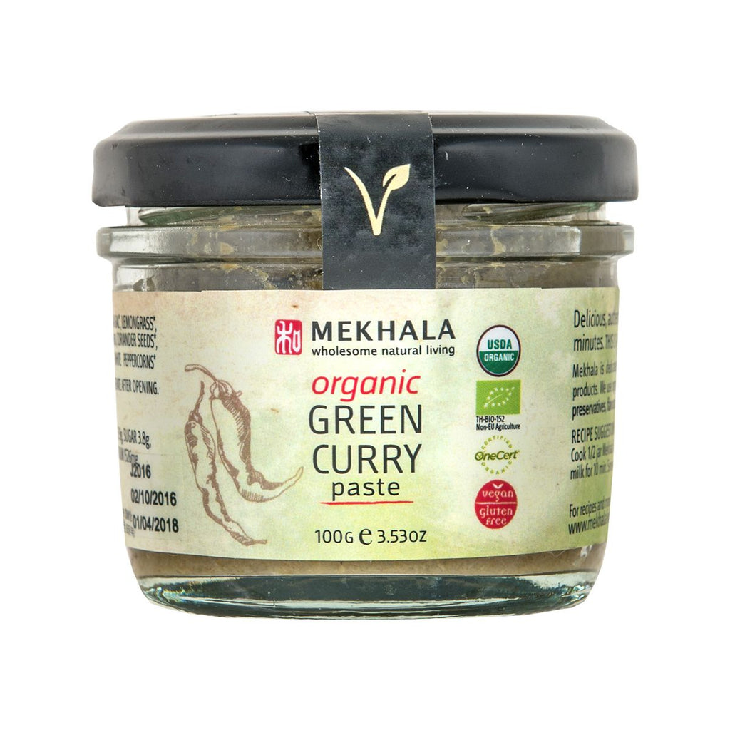 MEKHALA Organic Green Curry Paste  (100g)