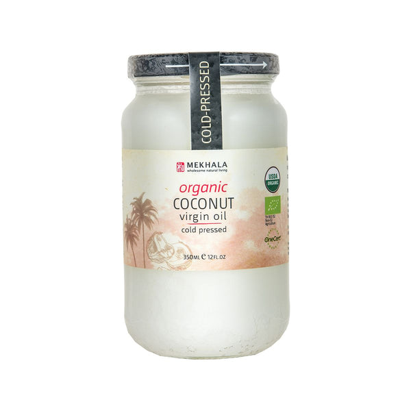 Mekhala Organic Cold Pressed Coconut Virgin Oil(350mL)