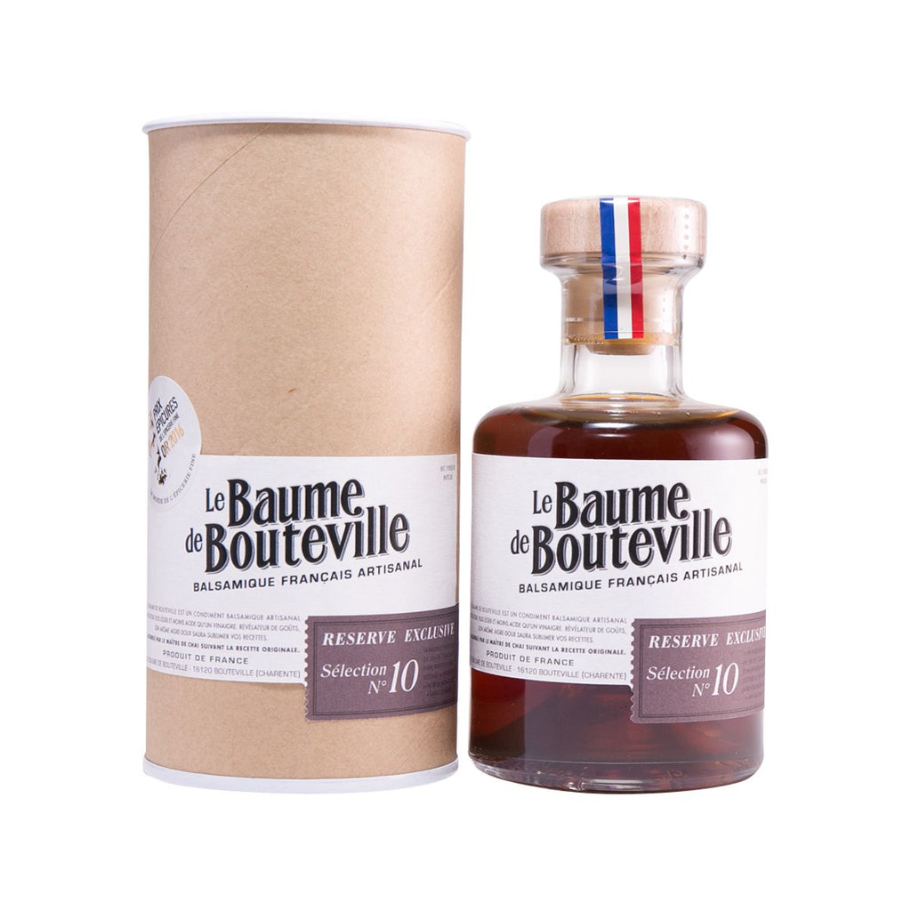 LE BAUME DE BOUTEVILLE French Artisanal Balsamic Vinegar - Selection No. 10  (200mL)