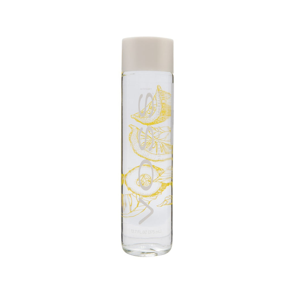 VOSS Sparkling Artesian Water from Norway - Lemon Cucumber Flavor  (375mL)