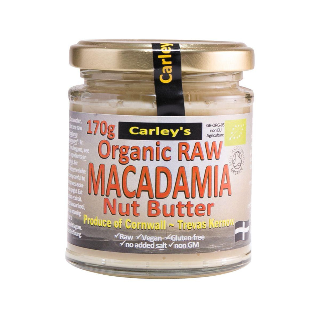Carleys Organic Raw Macadamia Nut Butter(170g)
