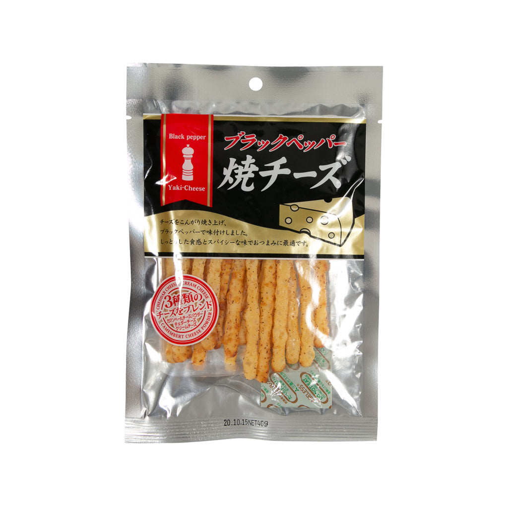 HASESHOKUHIN Baked Cheese - Black Pepper  (40g)