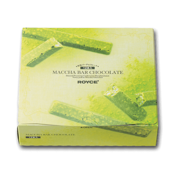 ROYCE' Matcha Bar Chocolate  (12pcs)