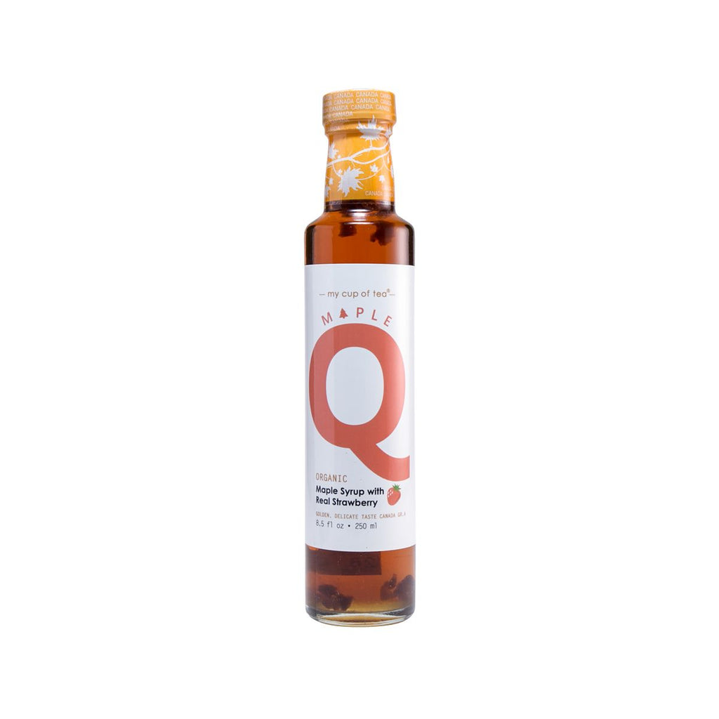 Mapleq Organic Maple Syrup with Real Strawberry(250mL)