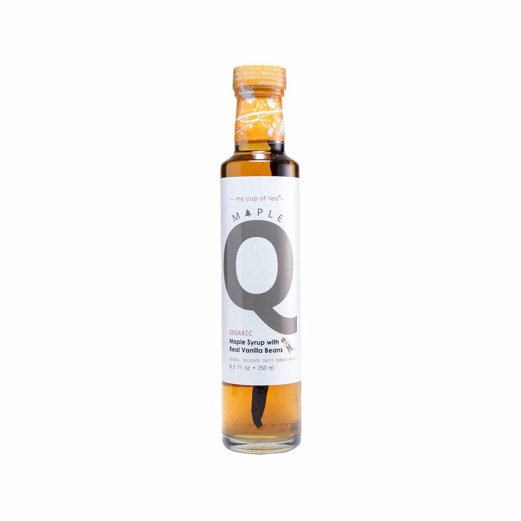 Mapleq Organic Maple Syrup with Real Vanilla Beans(250mL)