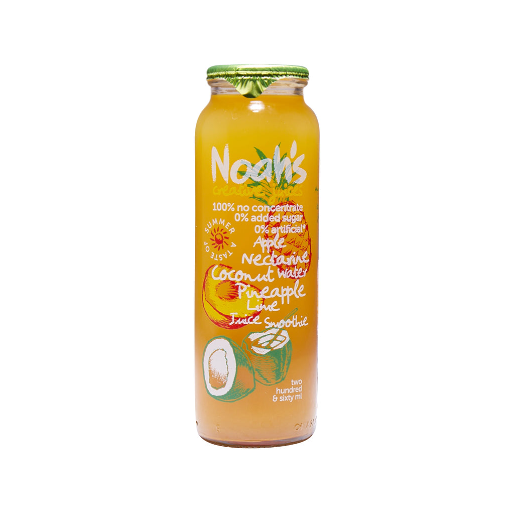 NOAH'S Juice Smoothie - Apple, Nectarine, Coconut Water, Pineapple, Lime  (260mL)