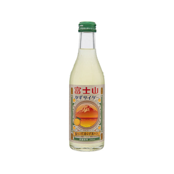 KIMURA DRINK Mountain Fuji Yuzu Citron Soda Drink  (240mL)