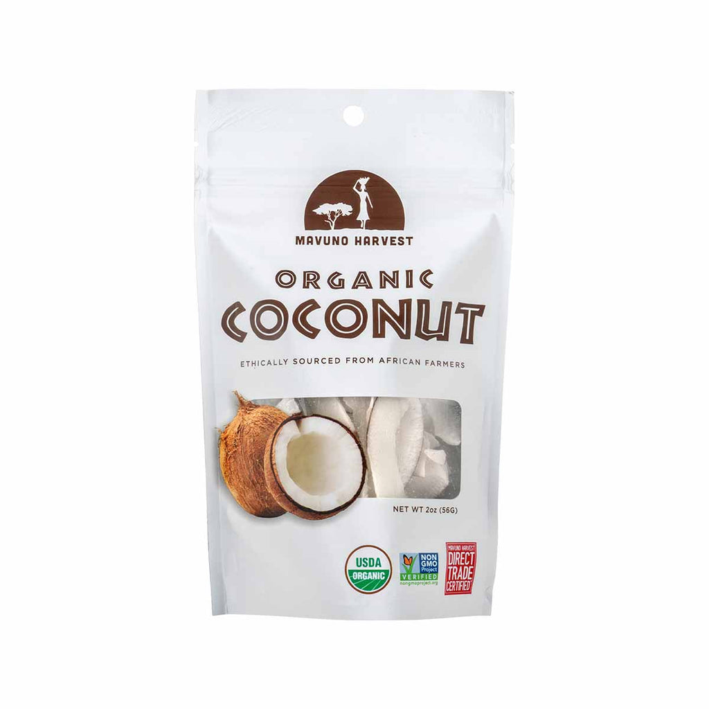 MAVUNO HARVEST Organic Dried Coconut  (56g)
