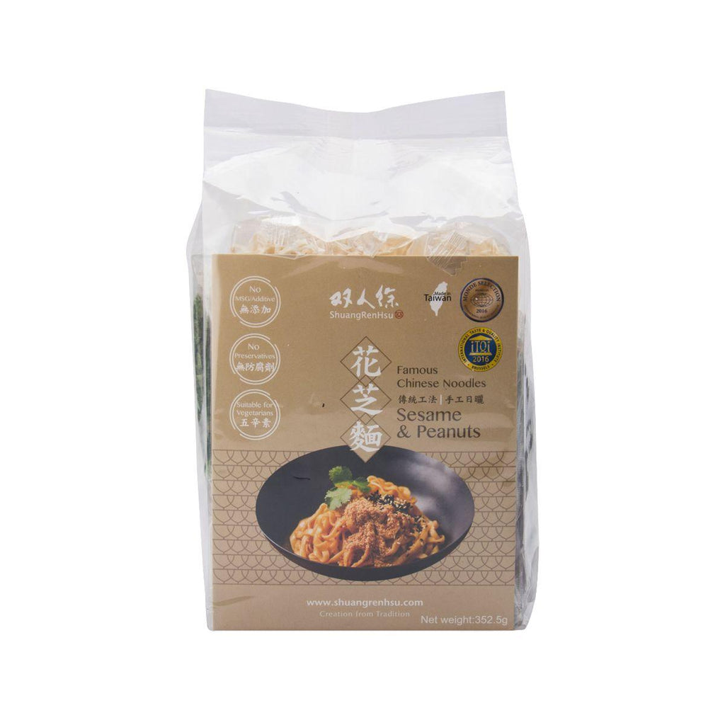 Shuangrenhsu Chinese Noodles - Sesame And Peanut(352.5g)