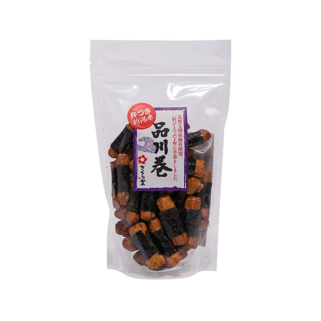 SAKURADO Rice Cracker - Seaweed  (70g)