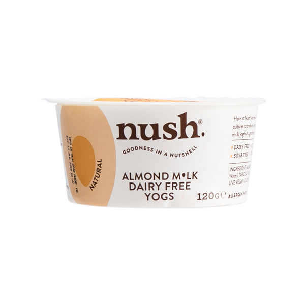 NUSH Almond Milk Dairy Free Yogurt - Natural  (120g)