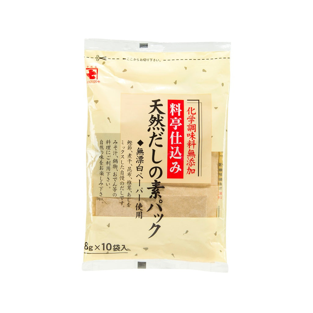 KANESHICHI Natural Dashi Soup Stock Pack  (10 x 8g)