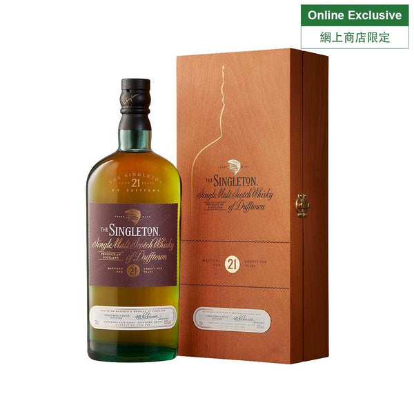 SINGLETON 21 Years Old Single Malt Whisky NV (700mL)