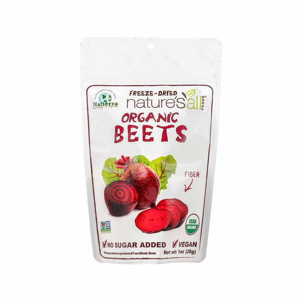 Nature's All Organic Freeze-Dried Beets(28g)