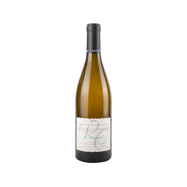 DOM CORDIER POUILLY FUISSE Jean Gustave 15 18 (750mL)