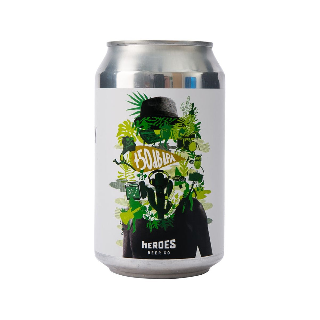 HEROES BEER Cereusly +50dB IPA Beer (Alc 6.2%)  (330mL)